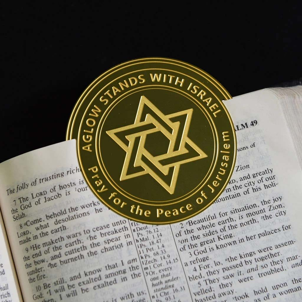 Aglow Stands with Israel Bookmark
